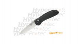 Couteau pliant Benchmade Griptillian GFN lame lisse