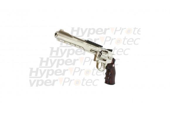 Revolver à billes - Ruger Super Hawk chromé - 8 pouces
