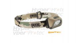 Lampe frontale compacte à LED Petzl Tactikka+ 160 lumens RGB