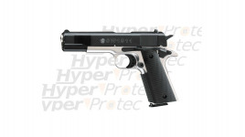 Smith & Wesson 1911 - pistolet alarme nickel
