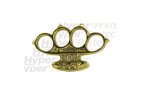 Poing américain doré Patent Boxer