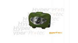 Lampe frontale LED Rayfall HP3A vert olive de 160 lumens