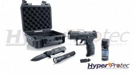 Coffret defense Pro secur du pistolet Walther P22 et accessoires