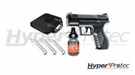Pack pistolet à billes d'acier XBG au CO2 - calibre 4.5mm