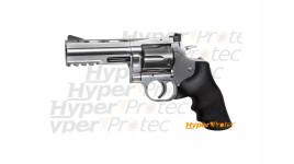 Réplique revolver Dan Wesson 715 silver 4 pouces - calibre 6mm