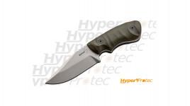 Couteau Bill Coye ridgeback avec étui kydex et boucle ceinture