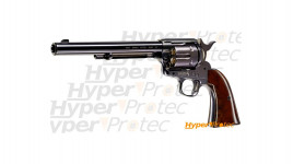 Revolver billes acier CO2 Colt SAA .45 full metal finition bleui - cal. 4.5mm canon long
