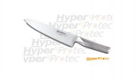 Couteau de cuisine Global G2 full inox type santoku - 20 cm