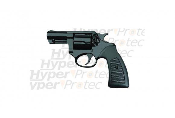 Arme à blanc competitive revolver noir alarme 9 mm