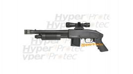 Mossberg 590 fusil à pompe avec lunette de visée - 355 fps