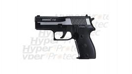 Hammerli P26 Dark Ops - noir culasse chromée - pistolet à plombs