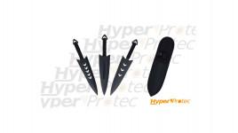 Set de 3 couteaux de lancer Haller Medieval Thrower