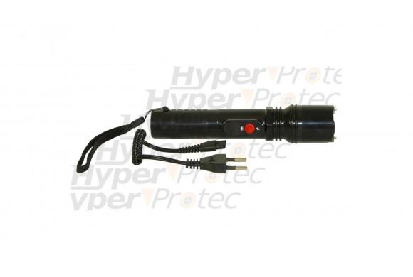 Defense électrique avec lampe 300.000V rechargeable