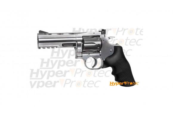 Revolver Dan Wesson chromé 4 pouces série 715