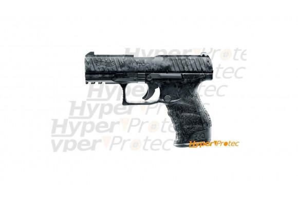 Holster de country western pour 1 revolver avec cartouches