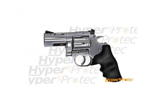 """Revolver Dan Wesson 715 chromé 2.5"""" - plomb diabolo 4,5mm"""