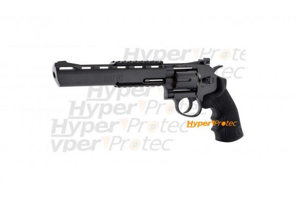 Revolver Black Ops noir 8 pouces à billes acier 4.5 mm