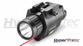 Lampe laser pour rail picatinny Hawke