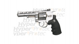 Revolver Dan Wesson chromé 4 pouces - airsoft CO2 6 mm