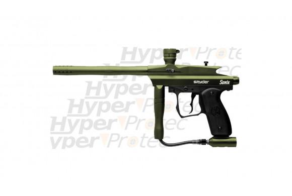 Sonix vert mat - Lanceur Paintball Spyder