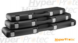 Mallette De Transport Rigide Noire Pour Arme Longue 125 cm