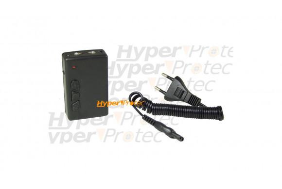 Super mini défense électrique 300.000V avec lampe et laser
