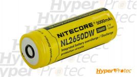 Batterie 26650 Nitecore 5000 mAh 3,7 Volt