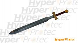 Épée du combattant en latex