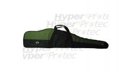Housse 112 cm Norica vert noire pour carabine