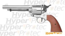 Revolver 1873 Bruni simple action en chrome cal. 9mm