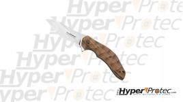 Couteau de poche FOX Flipper Palissandre