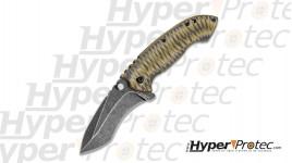Couteau de poche United Cutlery USMC G10 avec ouverture assistée