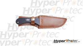 Couteau de lancer UZI Set de 3 pièces avec étui en cuir