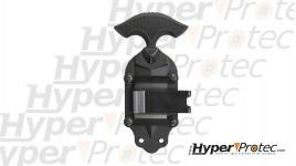 Holster pour CZ P07 et P09 en polymère moulé noir