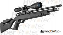Pack complet GAMO Carabine Coyote tactical noir PCP 5.5 mm