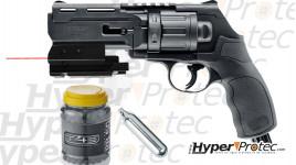 Pack prêt à tirer Walther T4E HDR Cal 50 avec munition et laser