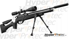 Pack Gamo HPA Tactical Carabine PCP 5.5 mm avec bipied, silencieux et lunette