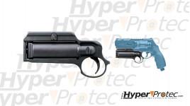 Lanceur de spray poivre pour revolver Umarex T4E HDR 50 avec recharge