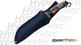 """Couteau de combat de 30 cm Kyu Line avec une lame finition """"stonewashed"""""""