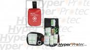 Kit de premier secours en pochette rouge