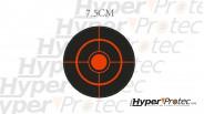 Cibles Autocollants 7,5 cm cibles réactives pour tir aux plombs
