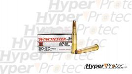 20 Munitions winchester super X 150 grains cal. 30-30