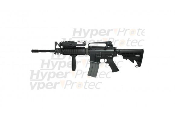 Carabine M15A4 RIS full métal système Blowback