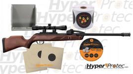 Pack prêt à tirer carabine à plombs Gamo Fasto Shot 10 IGT cal.4.5, 20 joules