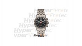 Montre Traser H3 Classique Chronographe Big Date Titan Blue