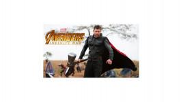 Marteau Stormbreaker de Thor des Avengers de 95 cm