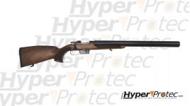 Carabine CZ527 luxe crosse bois quadrillée cal.222 Silence MK6