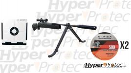 Pack pret à tirer Carabine à plombs Dream Rider par Norica 4.5 mm 19.9 J