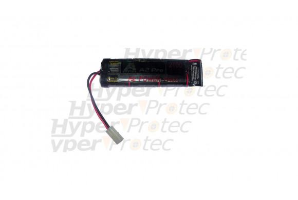 Batterie 1250 mAh 8.4V pour airsoft électrique type mini