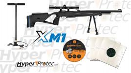 Pack prêt à tirer carabine à plombs 4.5 mm Stoeger PCP XM1 entièrement équipée
